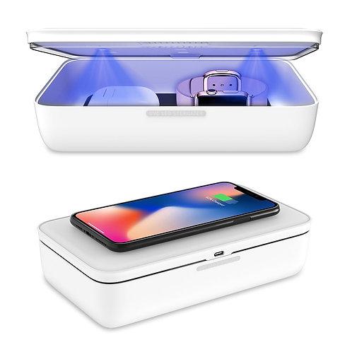 UV Object Sterilization Box with wireless phone charging