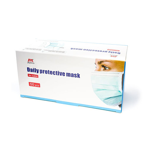 Disposable Face Masks - 3 ply (50 Pack)
