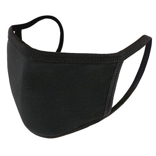 Cloth Reusable Face Mask - Black