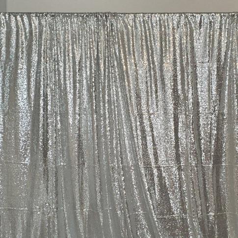 Silver Backdrop