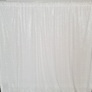 White Sequins