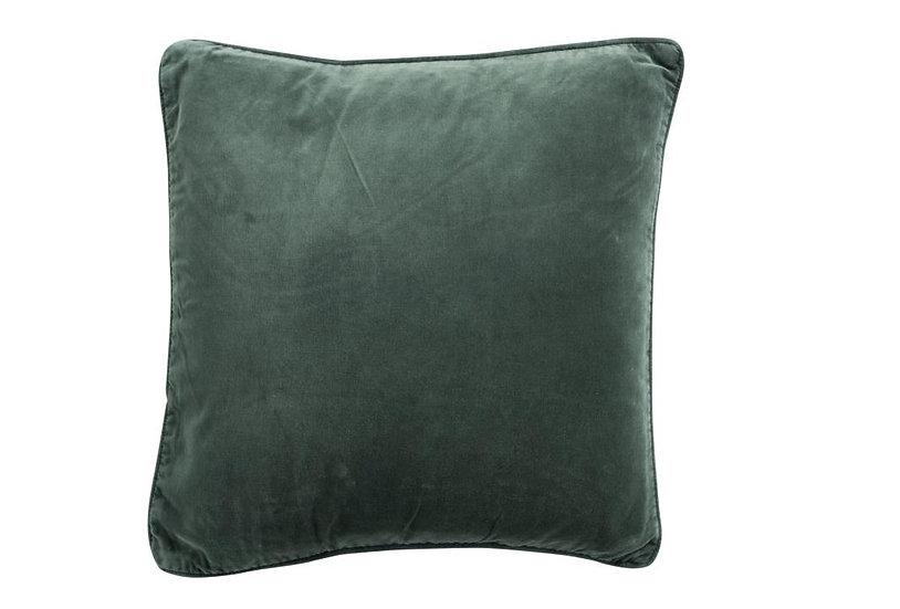 Kussen vierkant velvet groen
