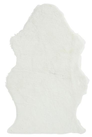 Vloermat schaap nepbont wit
