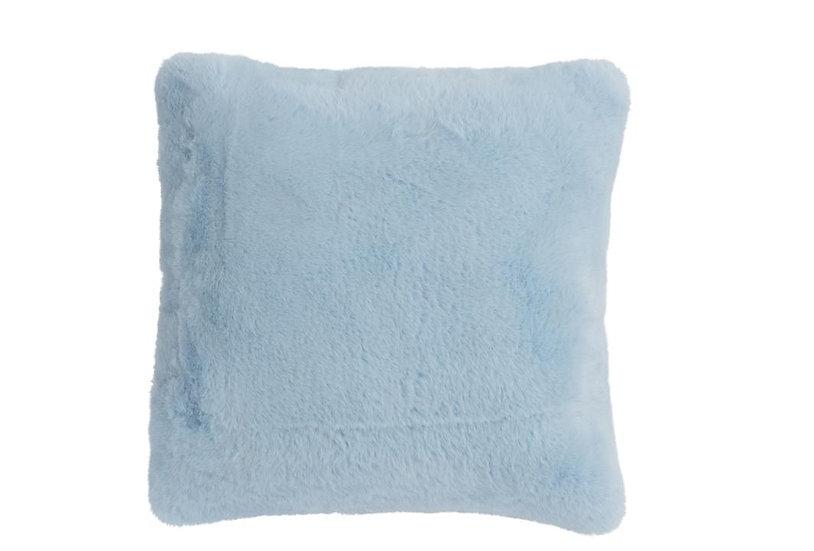 Kussen cutie polyester lichtblauw