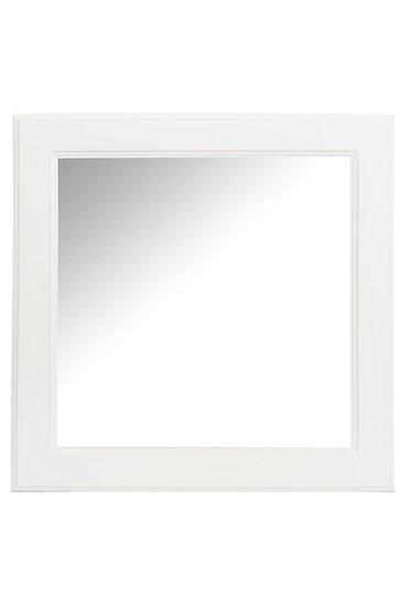 Spiegel vk hout wit 50x3x50cm