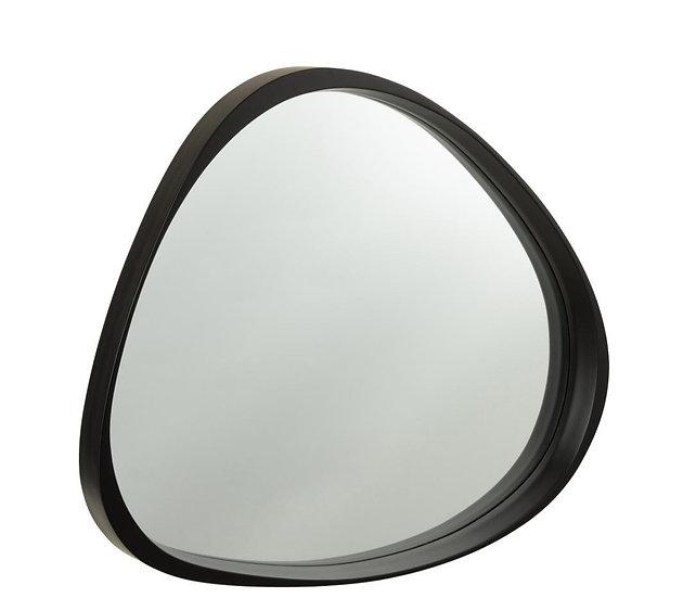 Spiegel giles mdf/glas zwart small