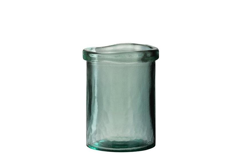 Vaas virginie glas groen small