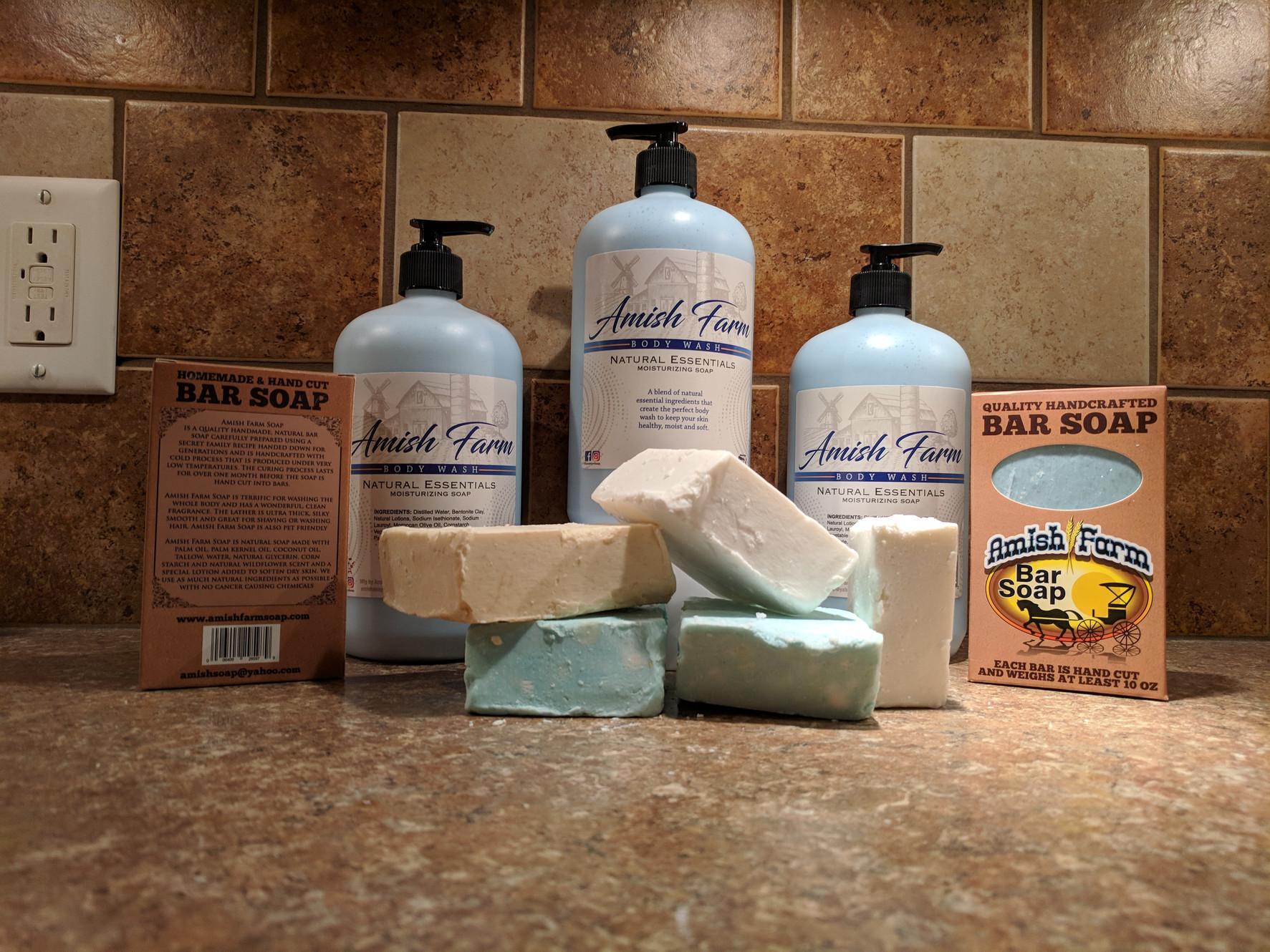 Natural Soap | Amish Farm Soap
