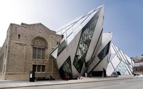 Royal Museum , Ontario ( Daniel Libeskind )