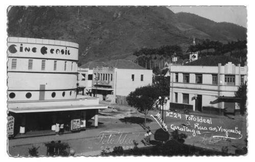 Cine Brasil , dec 1950 - áureos tempos...