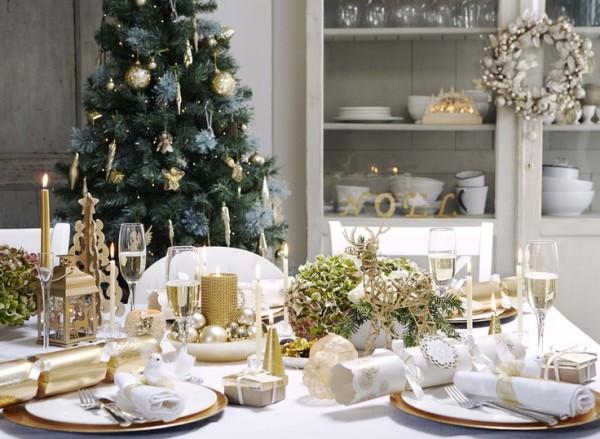 Decorações de Natal...