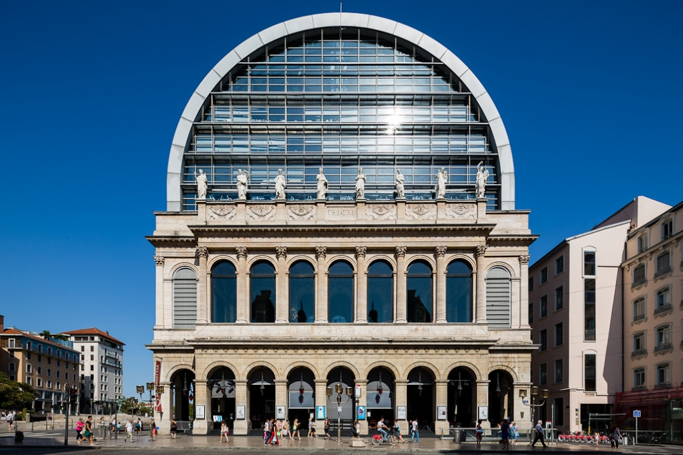 Teatro da Ópera , Lyon - França ( Jean Nouvel )