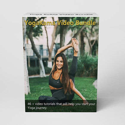 YogaKaMa Bundle - Pay once for a lifetime access.