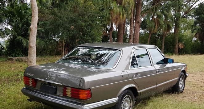 Mercedes 500 SE 1980
