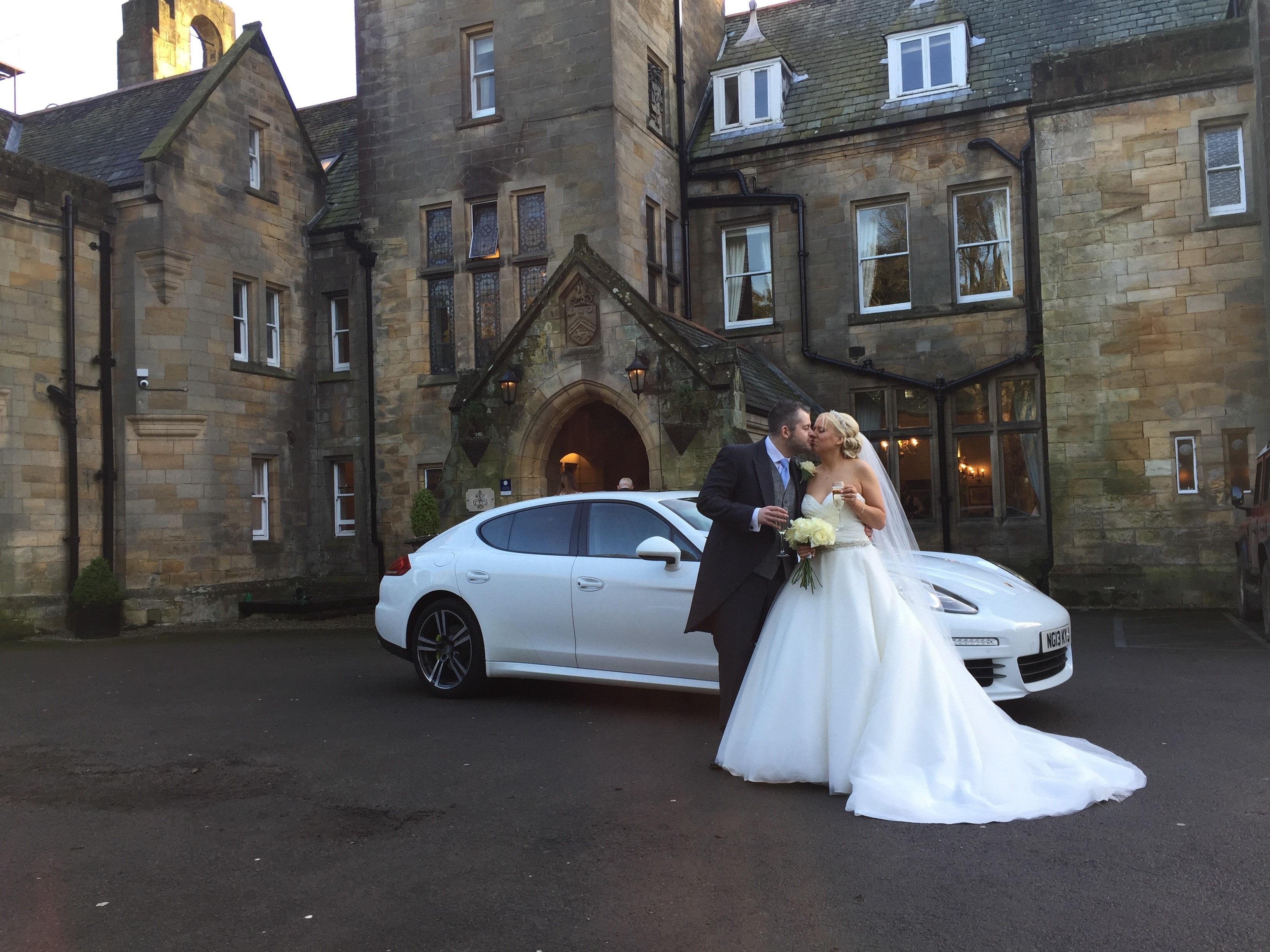 porsche panamera wedding