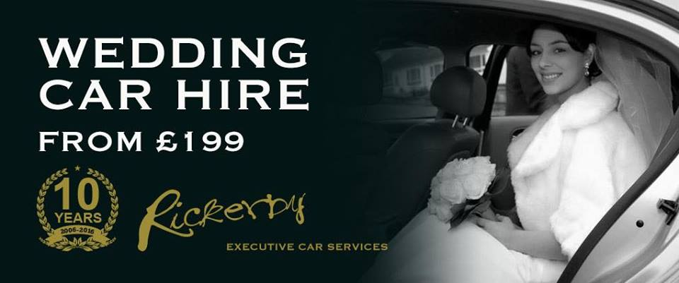 wedding car hire from £199