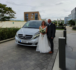 Bride and her father at the Crowne Plaza