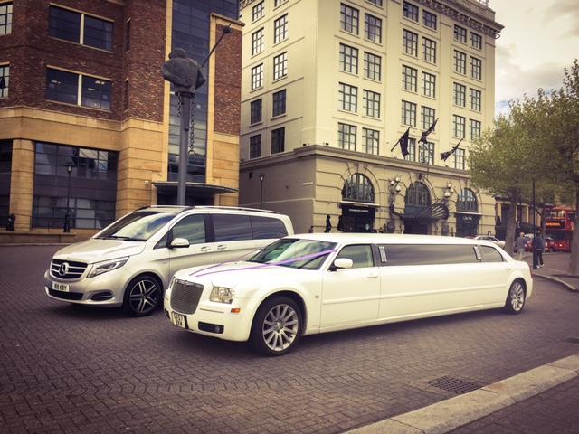 Chrysler Limousine & Mercedes V-Clas