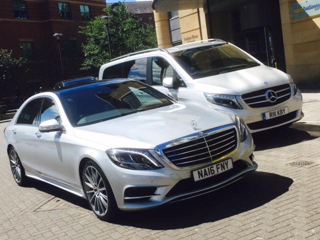Mercedes S-Class & matching V-Class.