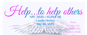 Help...to help others