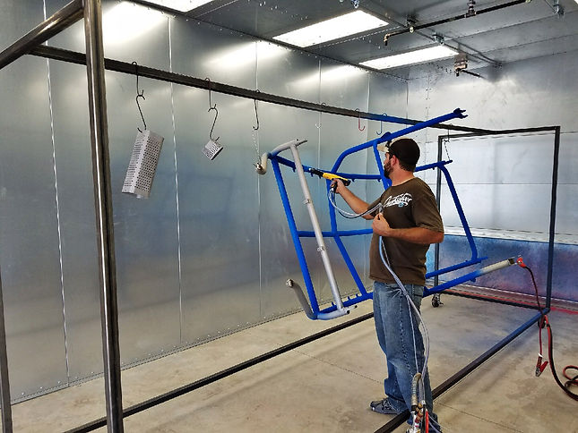 Cutom Powder Coating