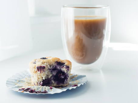Blueberry Muffins (gf + Ve)