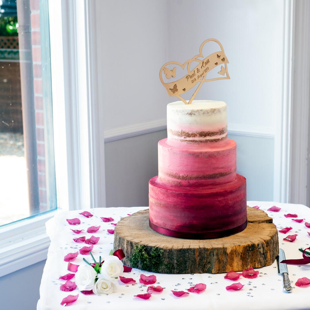 TBD_Burgandy ombre wedding cake.jpg