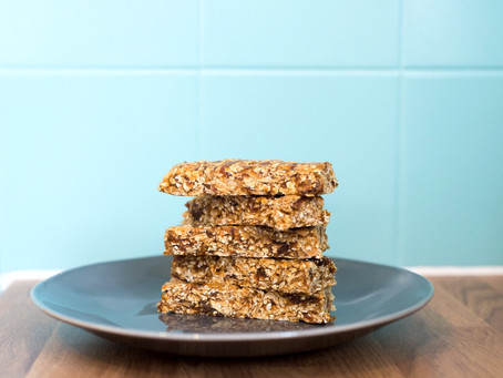Easy Protein Oat Bars