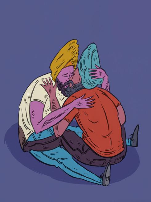Sardaars kissing.jpg