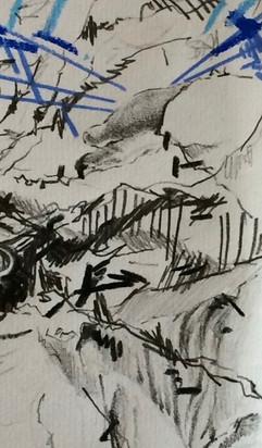 Waiting Room Drawings