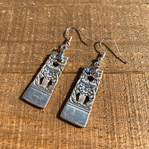 Earrings Silverware Flat