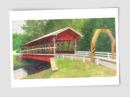 Card Robert Bowden Colvin Bridge