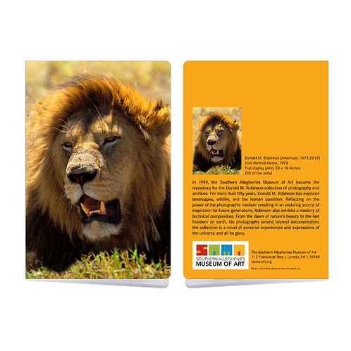 Sketchbook Robinson Lion