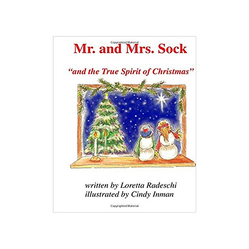 Mr. and Mrs. Sock and the True Spirit of Christmas