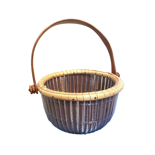 Basket Nantucket Blue