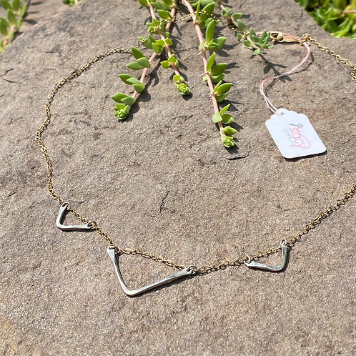 Necklace Triangle Sterling Silver