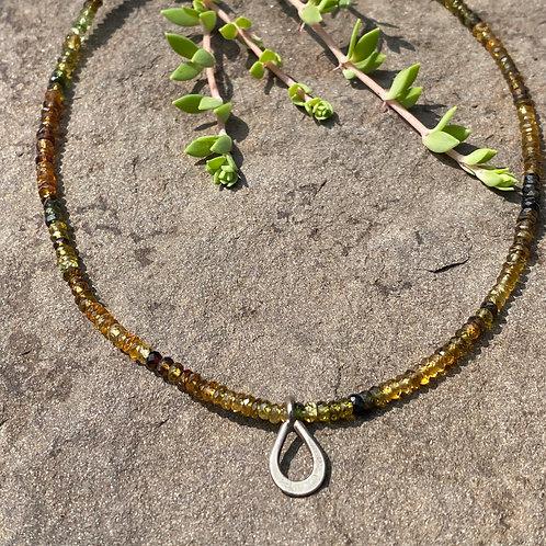 Necklace Tourmaline Bead