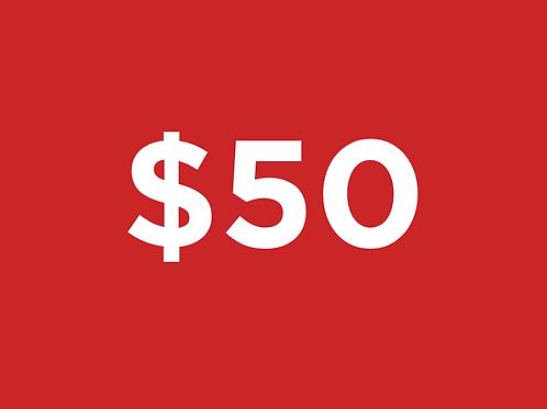 Friend $50-$99