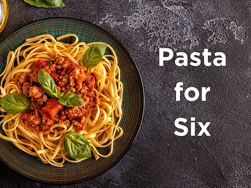 Pasta for Six