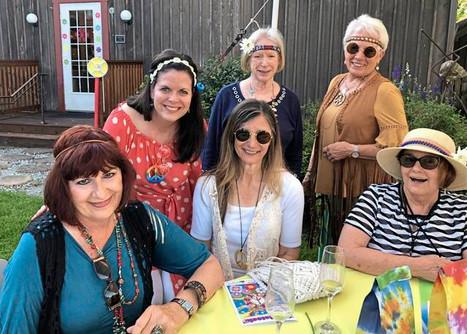 Nancy Mauser, Stacey Strecker, Penny Suwak, Trudy Brisendine, Carol Barton, Sandra Svilar.