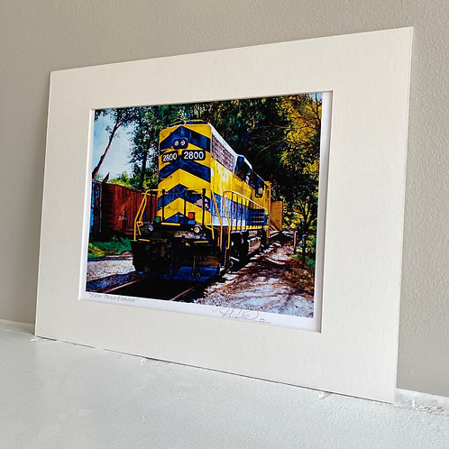 East Penn Engine Unframed