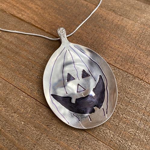 Necklace Spoon JackOLantern