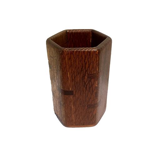 Pencil Cup Mahogany