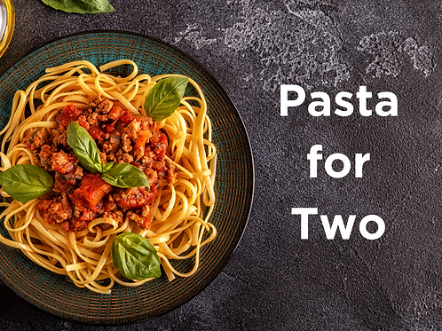 Pasta for Two