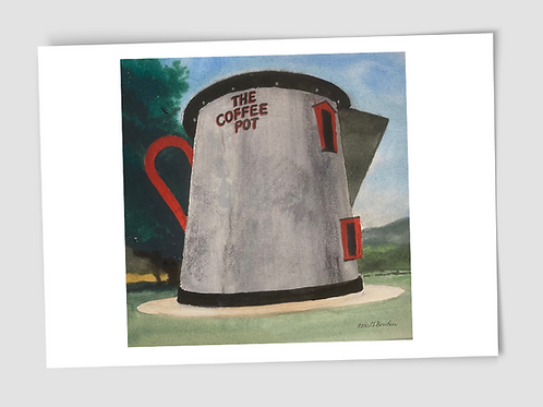 Card Robert Bowden Coffee Pot