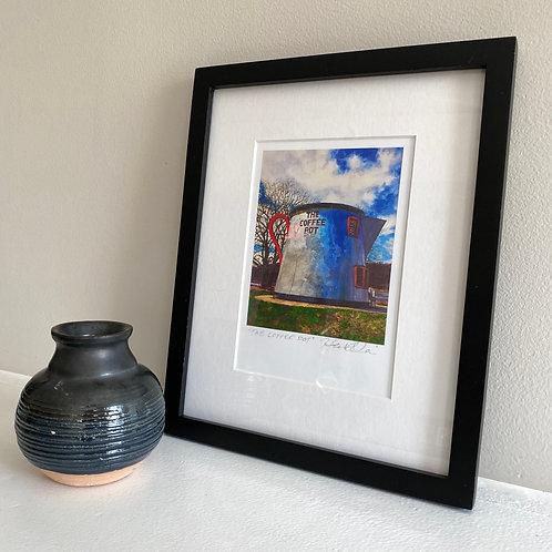 Coffee Pot Framed
