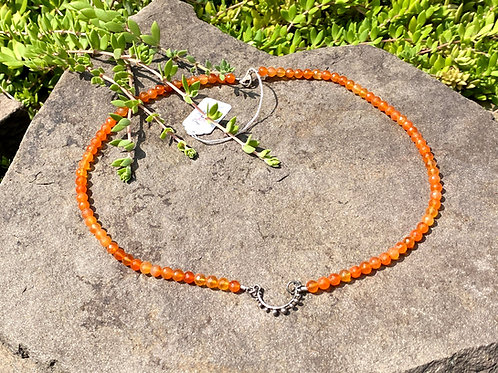 Necklace Carnelian Bead
