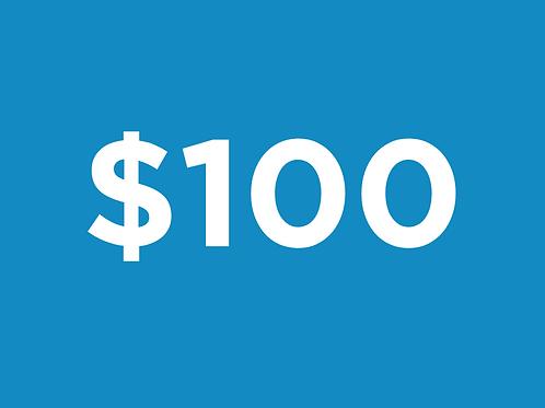 Sponsor $100