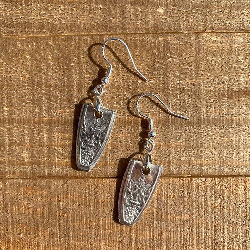 Earrings Silverware Fountain