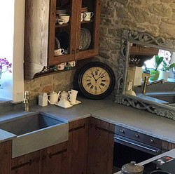 Cucina in legno artigianale